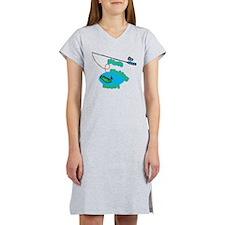Mimi's Fishing Buddy Women's Nightshirt
