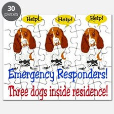 Emergency Responder Stickers Puzzle
