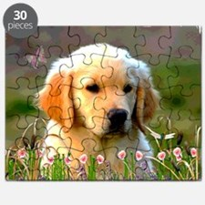Austin, Retriever Puppy Puzzle