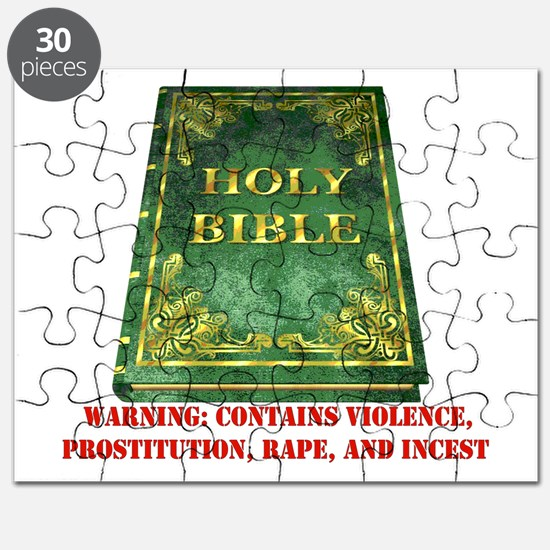 Bible Sex Violence Warning Puzzle