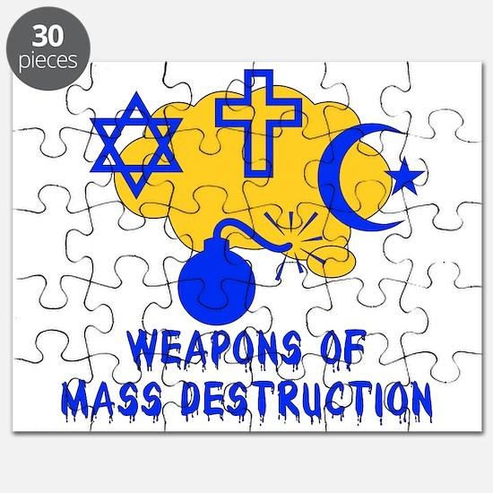 Religion Mass Destruction Puzzle