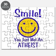 Atheist Smiley Face Puzzle