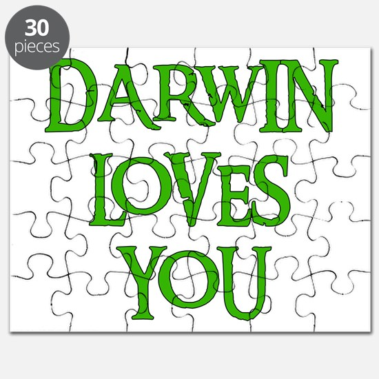 Darwin Loves You Puzzle