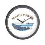 Water ski Wall Clock