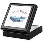 Water ski Keepsake Box