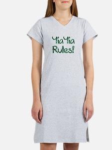 YiaYia Rules! Women's Nightshirt