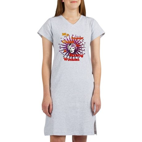 Inner Child Strong Woman Women's Nightshirt