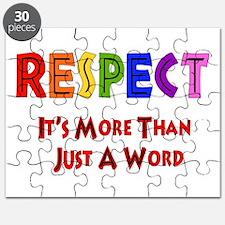 Rainbow Respect Saying Puzzle