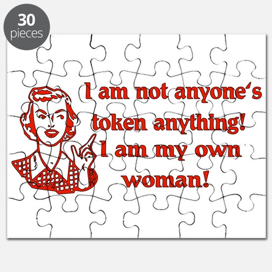 Not Your Token Woman Puzzle
