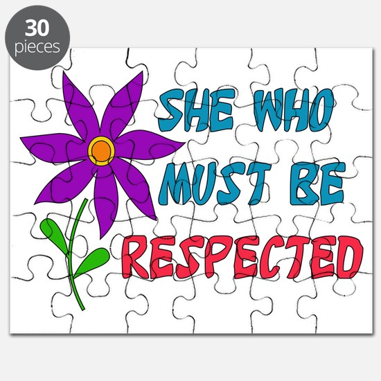 She Who Must Be Respected Puzzle