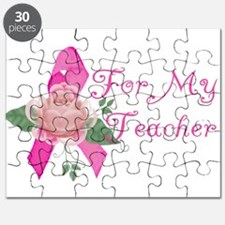 Breast Cancer Support Teacher Puzzle
