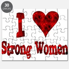 I Heart Strong Women Puzzle