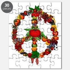 Veggie Peace Sign Puzzle