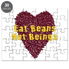 Eat Beans Not Beings Puzzle