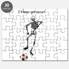 I'll never quit soccer! Puzzle