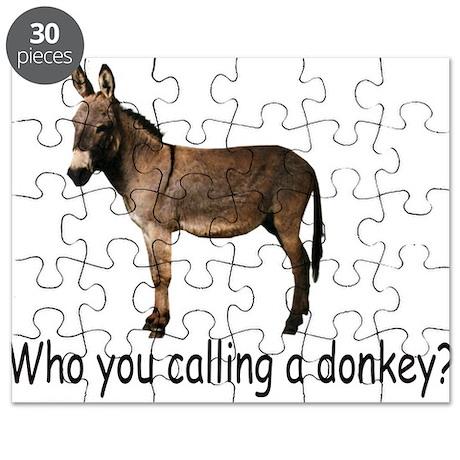 Poker Donkey Puzzle
