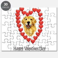 Valentine Dog Puzzle