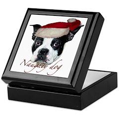 Naughty Dog Keepsake Box