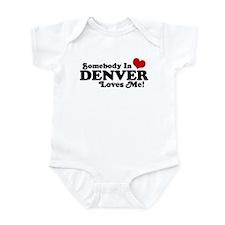 Somebody In Denver Loves Me Infant Bodysuit