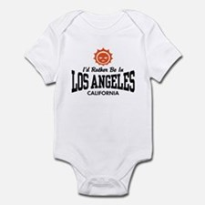 I'd Rather Be In Los Angeles Infant Bodysuit