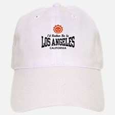 I'd Rather Be In Los Angeles Baseball Baseball Cap