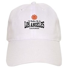 I'd Rather Be In Los Angeles Baseball Cap