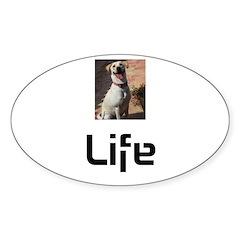 Dog Life Decal