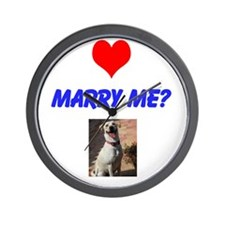 Marry Me? Wall Clock