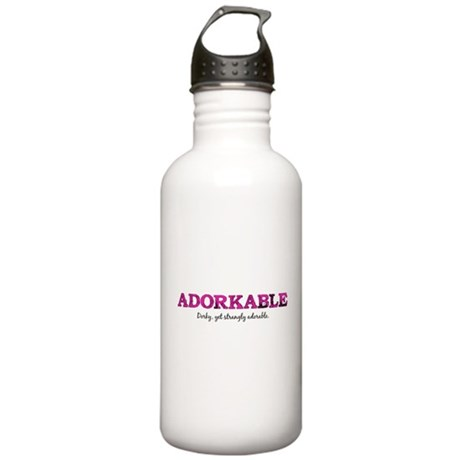 Adorkable Stainless Water Bottle 1.0L