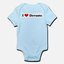 I Love Devonte Infant Creeper