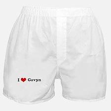 I Love Gavyn Boxer Shorts