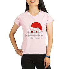 Santa Invader Performance Dry T-Shirt