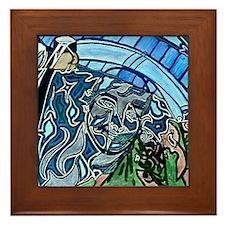 Papa Sal Framed Tile