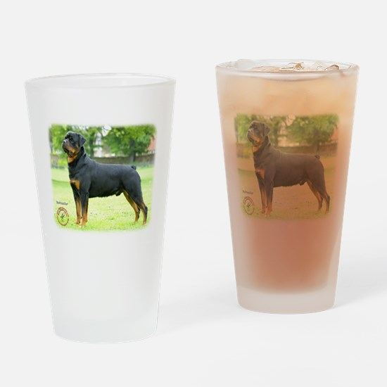 Rottweiler 8T039D-0 Drinking Glass