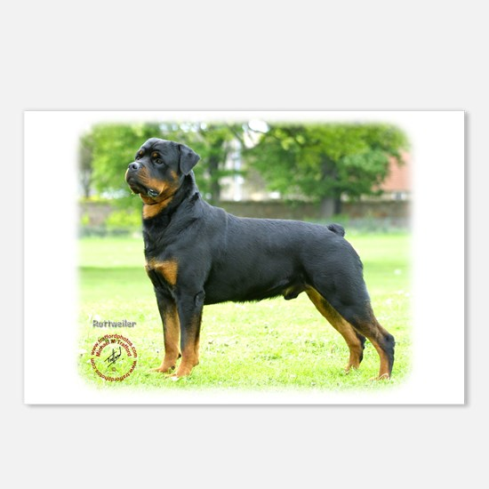 Rottweiler 8T039D-0 Postcards (Package of 8)