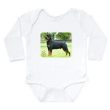Rottweiler 8T039D-0 Long Sleeve Infant Bodysuit
