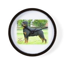 Rottweiler 8T039D-0 Wall Clock