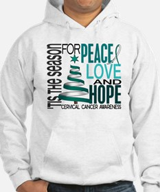 Christmas 1 Cervical Cancer Hoodie