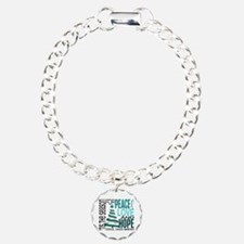 Christmas 1 Cervical Cancer Bracelet