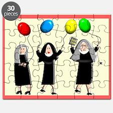 Catholic Nuns Christmas Puzzle