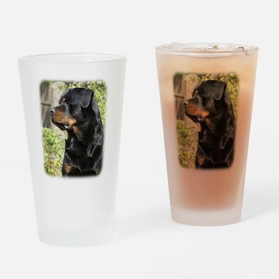 Rottweiler 9R047D-039 Drinking Glass