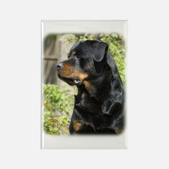 Rottweiler 9R047D-039 Rectangle Magnet