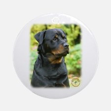 Rottweiler 9T004D-569 Ornament (Round)