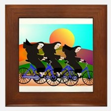 Catholic Nuns Christmas Framed Tile