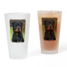 Rottweiler 9W044D-073 Drinking Glass