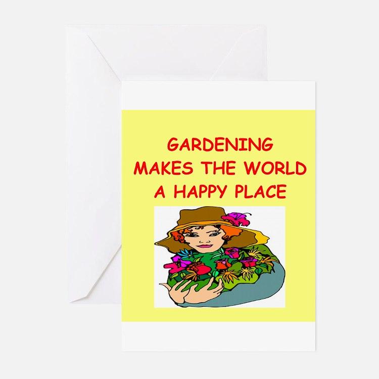 gardening Greeting Cards (Pk of 10)