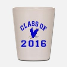 Class Of 2016 Eagle Shot Glass