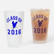 Class Of 2016 Eagle Drinking Glass