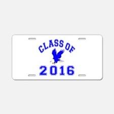 Class Of 2016 Eagle Aluminum License Plate