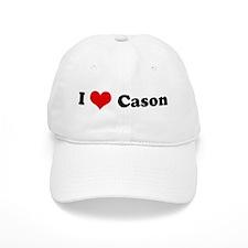 I Love Cason Baseball Cap